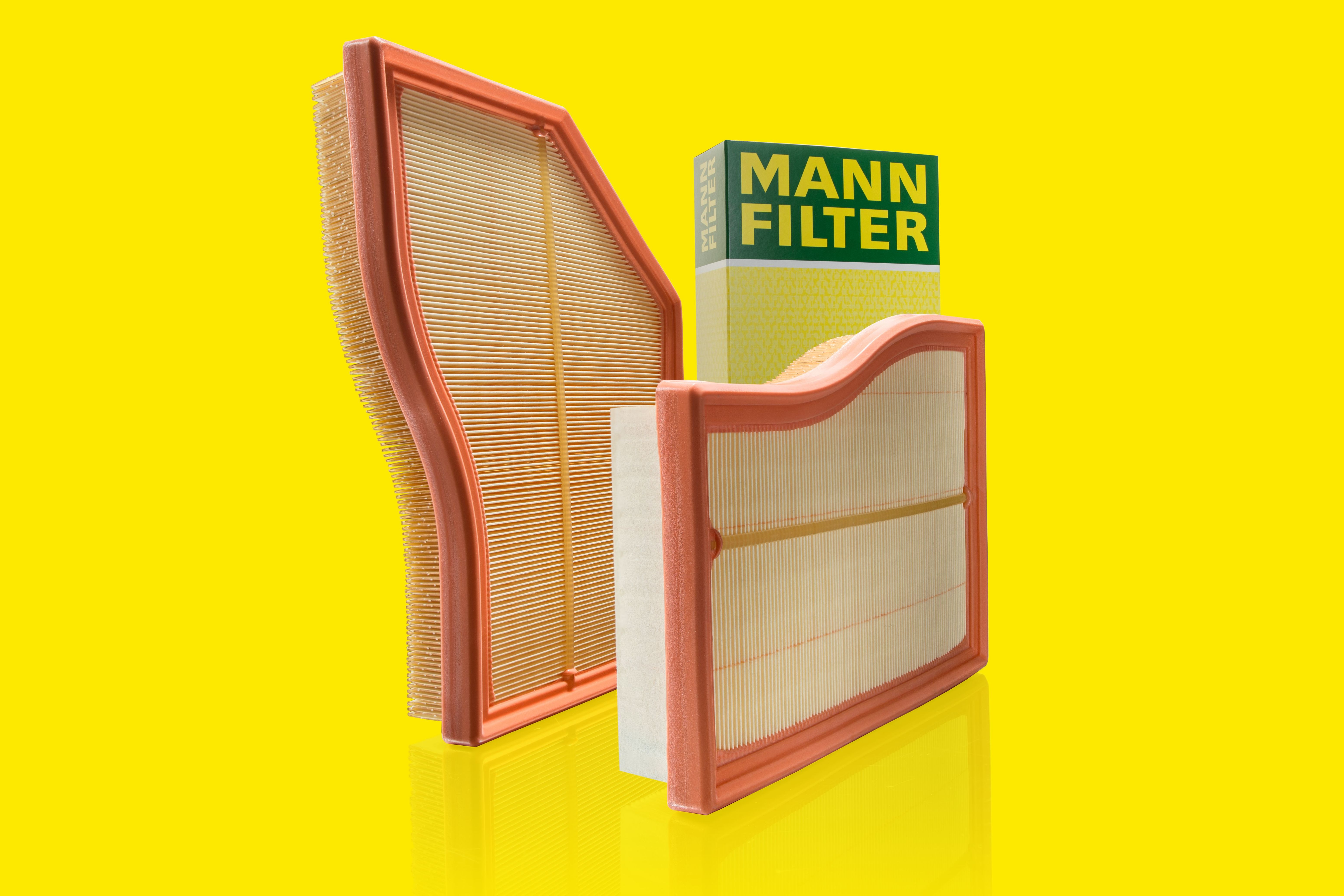 The new MANN-FILTER Flexline air filters C 26 017 and C 30 030
