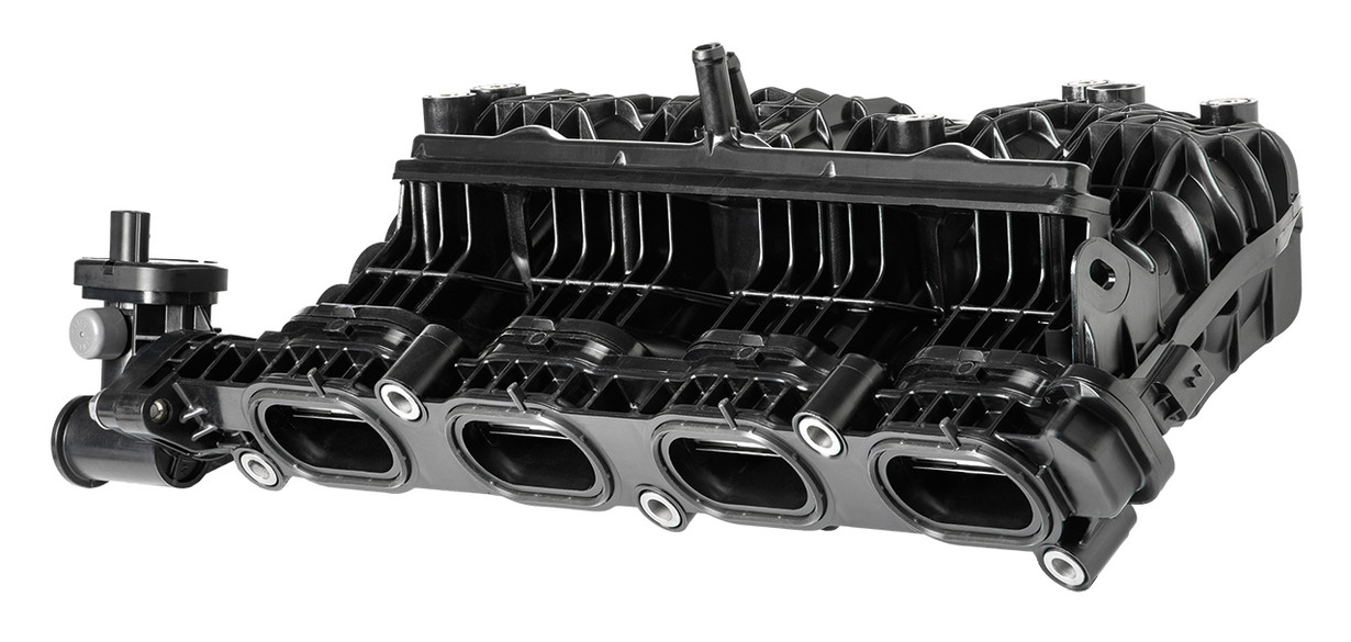 Intake manifold with tumble flaps